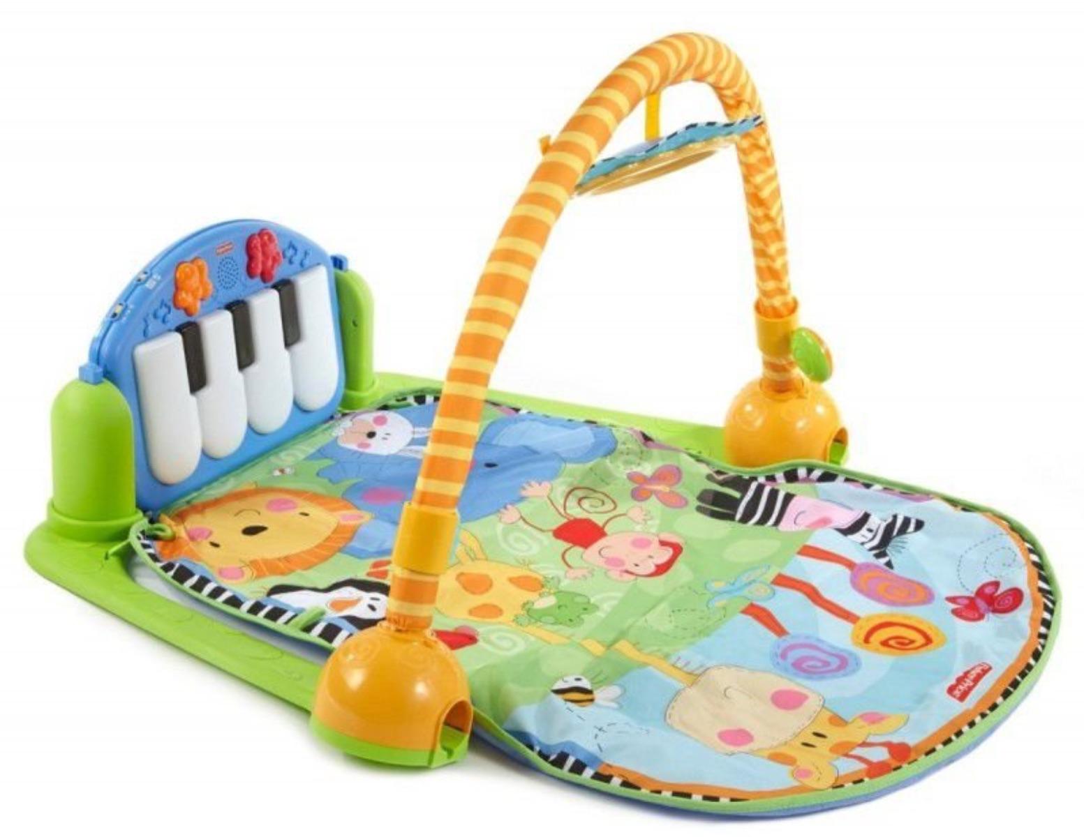 Tapete de Atividades Piano Musical Animais