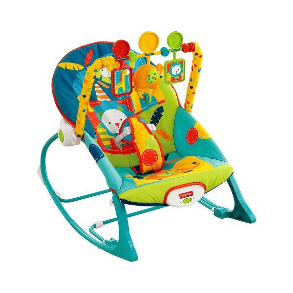 Cadeira Vibratória Crescendo Comigo Elefantinho
