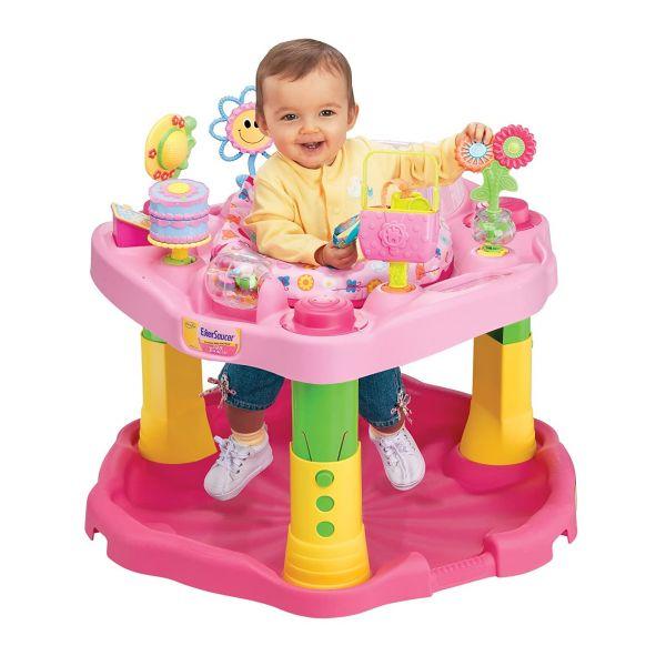 Centro Exersaucer Baby Active Rosa